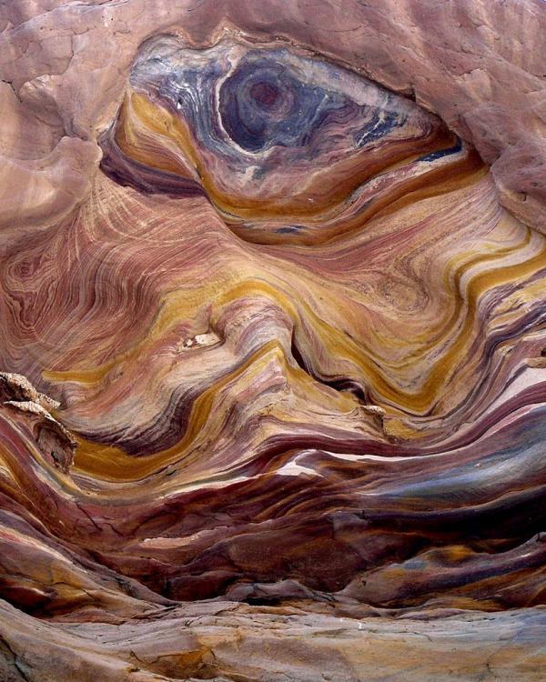Африканский цветной каньон