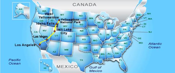 Йеллоустоун – самый большой национальный парк Америки - 7 Февраля ...