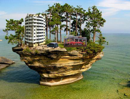Остров озера гурон